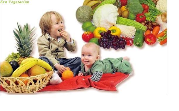 anak vegetarian