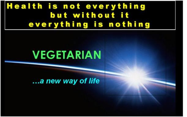 Vegetarian a New Way of Life
