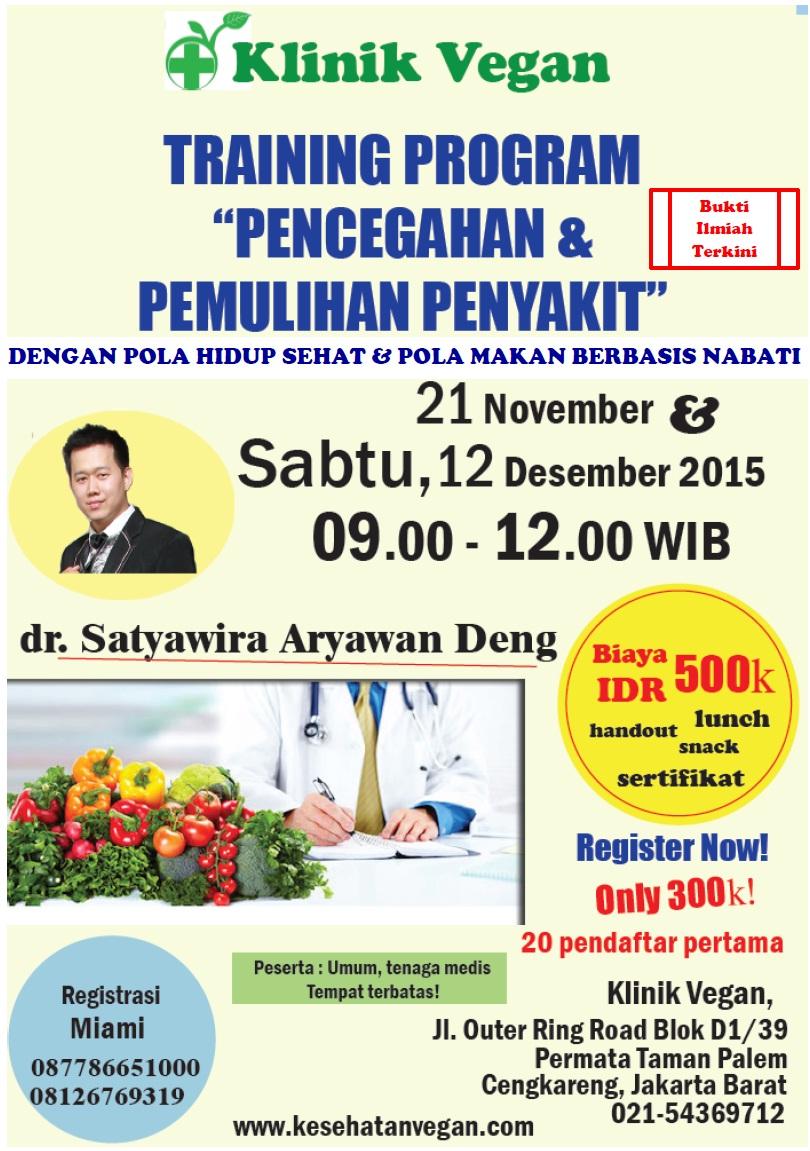 Training Program Pencegahan & Pemulihan Penyakit ok