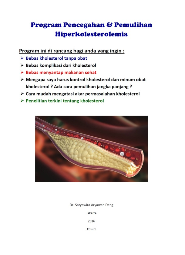 Cover Cholesterol